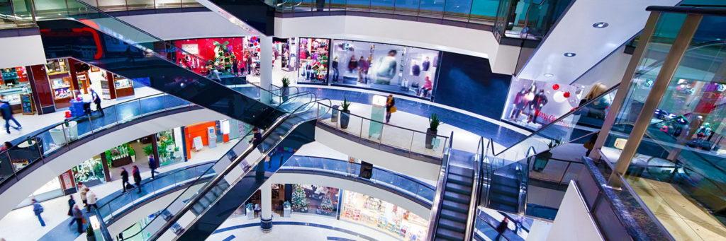 реклама в торговых комплексах