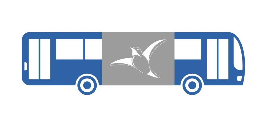 бортовая реклама на автобусах