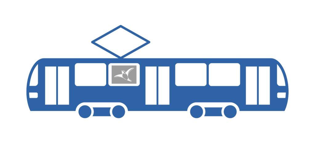 реклама в трамваях