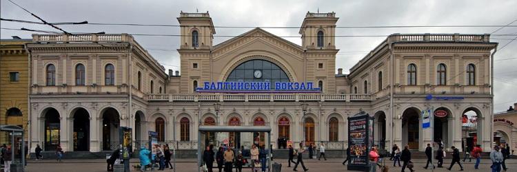 реклама на балтийском вокзале